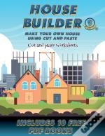 Cut And Paste Worksheets (House Builder)
