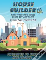 Cut And Paste Worksheets Pdf (House Builder)