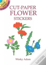 Cut-Paper Flower Stickers
