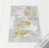 Cycle Climbs Collect And Scratch Map