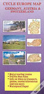 Cycle Europe Mapgermany, Austria And Switzerland