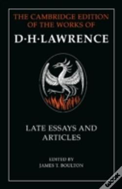 Wook.pt - D. H. Lawrence: Late Essays And Articles
