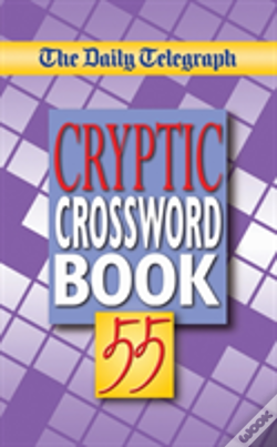 Wook.pt - Daily Telegraph Cryptic Crossword Book 55
