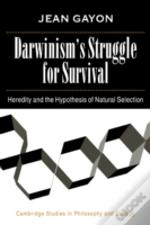 Darwinism'S Struggle For Survival