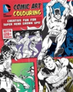 Dc Comics Comic Art Colouring Male