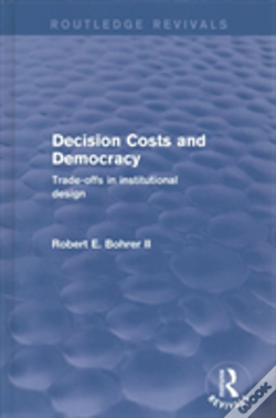 Wook.pt - Decision Costs And Democracy Trade