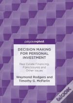 Decision Making For Personal Investment