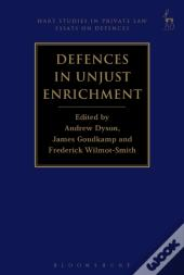 Defences In Unjust Enrichment,
