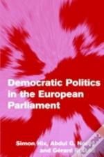 Democratic Politics In The European Parliament