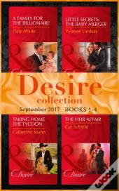 Desire September 2017 Books 1 -4 (Mills & Boon E-Book Collections) (Billionaires And Babies, Book 87)