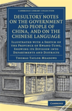 Wook.pt - Desultory Notes On The Government And People Of China, And On The Chinese Language