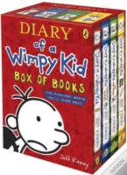 Wook.pt - Diary Of A Wimpy Kid Box Of Books