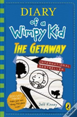 Wook.pt - Diary Of A Wimpy Kid: The Getaway (Book 12)