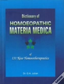 Wook.pt - Dictionary Of Homoeopathic Materia Medica