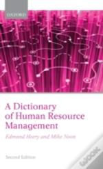 Dictionary Of Human Resource Management