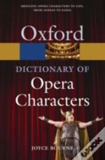 Dictionary Of Opera Characters Ne Paperb