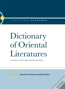 Wook.pt - Dictionary Of Oriental Literatures 3