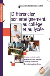 Differencier Son Enseignement Au College
