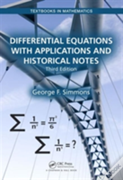 Wook.pt - Differential Equations With Applications And Historical Notes
