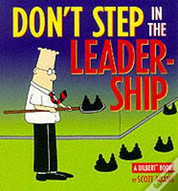Wook.pt - Dilbert;Don'T Step In Leadership