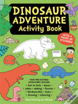 Wook.pt - Dinosaur Adventure Activity Book