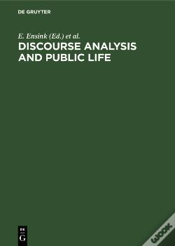 Wook.pt - Discourse Analysis And Public Life