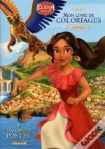 Disney Elena D'Avalor Mon Livre De Coloriages + Un Grand Poster