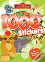 Disney Junior Lion Guard 1000 Stickers