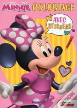 Disney Minnie Coloriage Avec Stickers