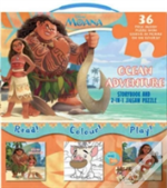 Disney Moana My Adventures At Sea 2-In-1 Jigsaw Set