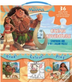 Wook.pt - Disney Moana My Adventures At Sea 2-In-1 Jigsaw Set