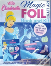 Disney Princess Cinderella Magic Foil Craft Art