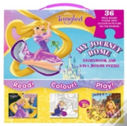 Wook.pt - Disney Princess Tangled My Journey Home Storybook And 2-In-1 Jigsaw Puzzle