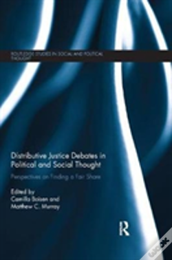Wook.pt - Distributive Justice Debates In Political And Social Thought