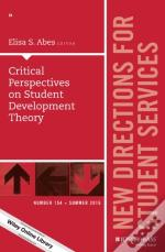 Diverse And Critical Perspectives On Student Development Theory