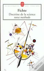 Doctrine De La Science Nova Methodo