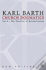 Doctrine Of Reconciliationsubject-Matter And Problems Of The Doctrine Of Reconciliation