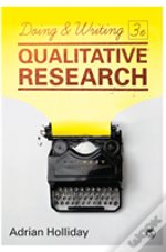 Doing & Writing Qualitative Research