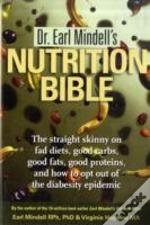 Dr Earl Mindell'S Diet Bible