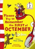 Dr. Seuss - Please Try To Remember The First Of Octember