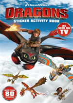 Dragons Sticker Activity Book