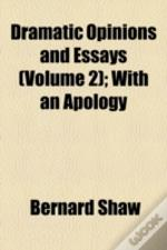 Dramatic Opinions And Essays (1907)