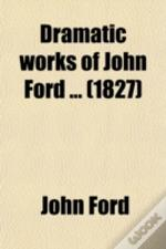 Dramatic Works Of John Ford ... (1827)