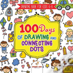 Drawing Book For Kids 6-8. 100 Days Of Drawing And Connecting Dots. The One Activity Per Day Promise For Improved Mental Acuity (All Things Not Living Edition)