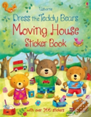 Dress The Teddy Bears Moving House Sticker Book