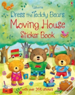 Wook.pt - Dress The Teddy Bears Moving House Sticker Book