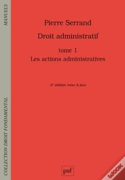 Wook.pt - Droit Administratif Tome 1 - Les Actions Administratives