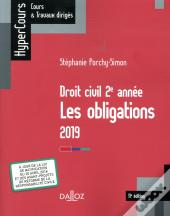 Droit Civil 2e Annee, Les Obligations 2019 - 11e Ed.