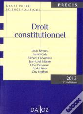Droit Constitutionnel 2013 - 15e Edition