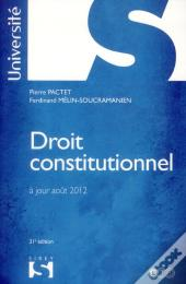 Droit Constitutionnelpactet - 31e Edition